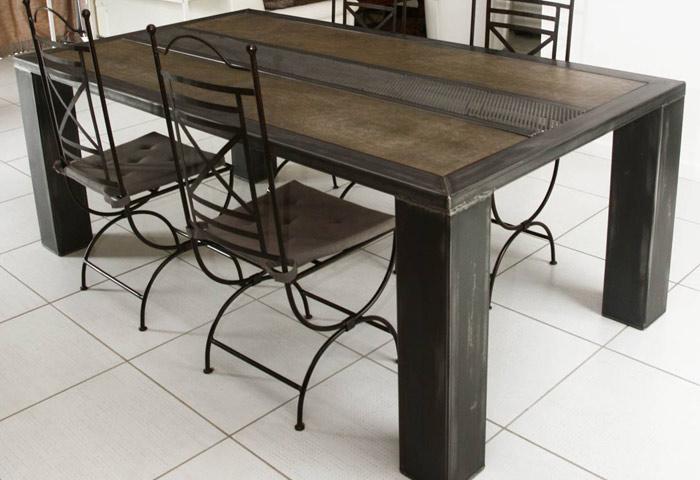 mobilier m tal atelier 46. Black Bedroom Furniture Sets. Home Design Ideas