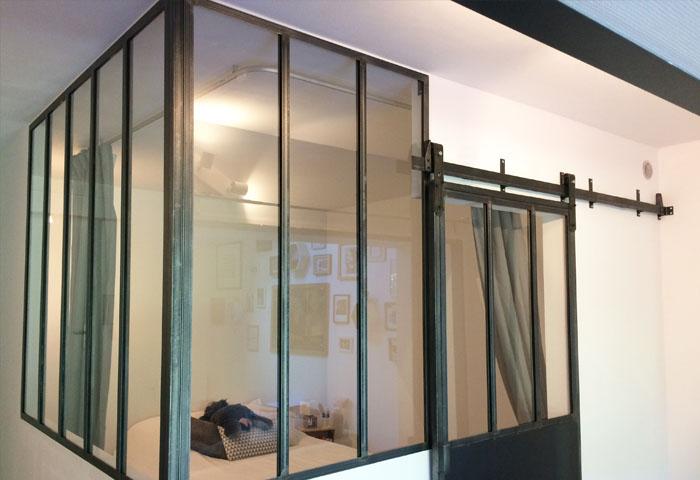 Créer une verrière d\'atelier d\'artiste sur mesure Bordeaux I Atelier ...