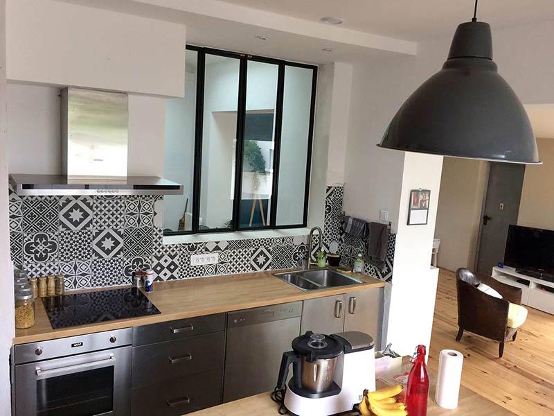 Verrière cuisine ouvrant - Atelier 46