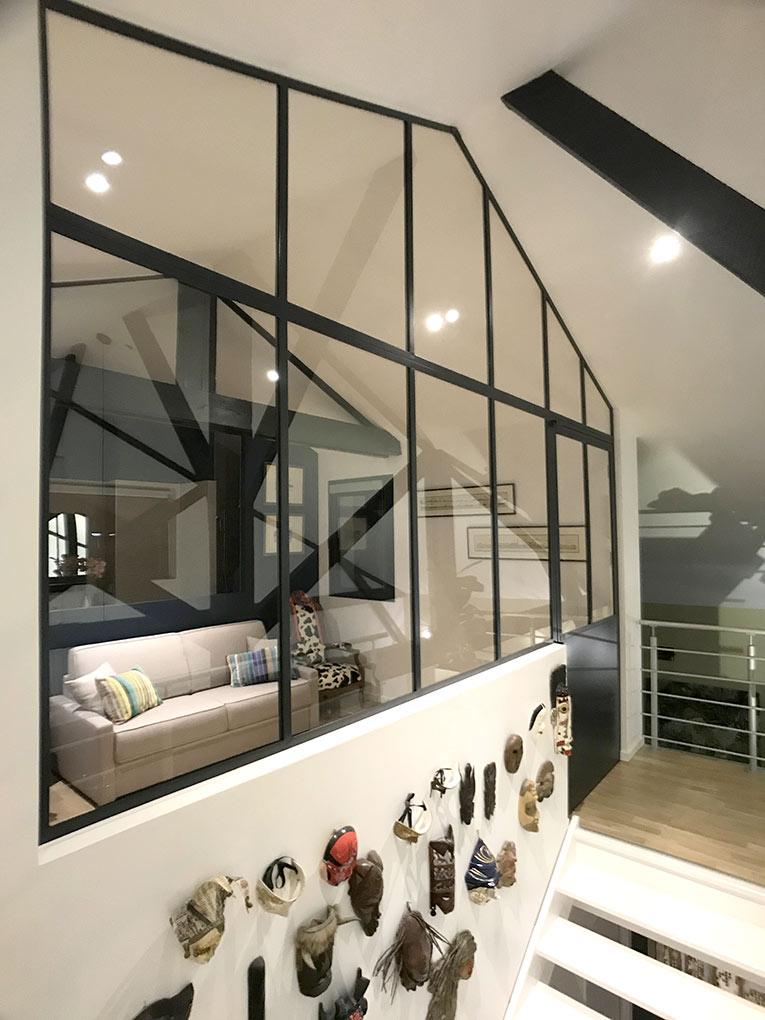 Verriere Loft Sous Rampant Atelier 46